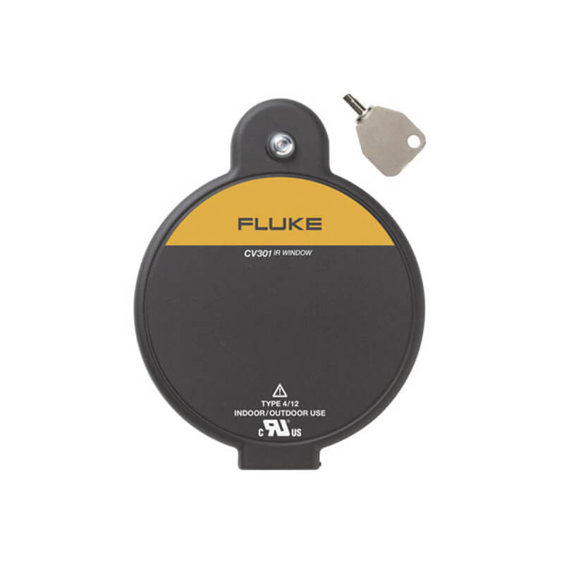 Fluke CV301 ClirVu IR Window 75mm for Thermal Imager Inspections with Key