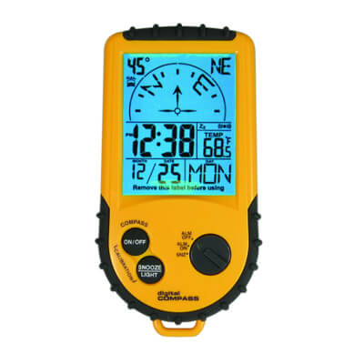 General Tools DC360BL Backlit Digital Compass