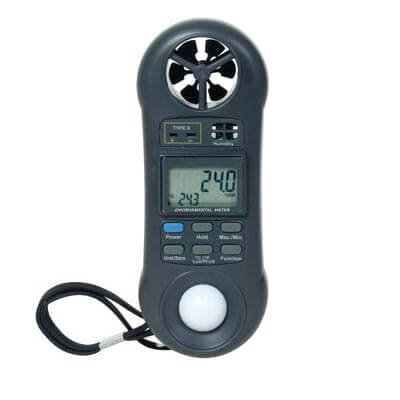 General Tools DLAF8000 4-in-1 Digital Air Flow Meter