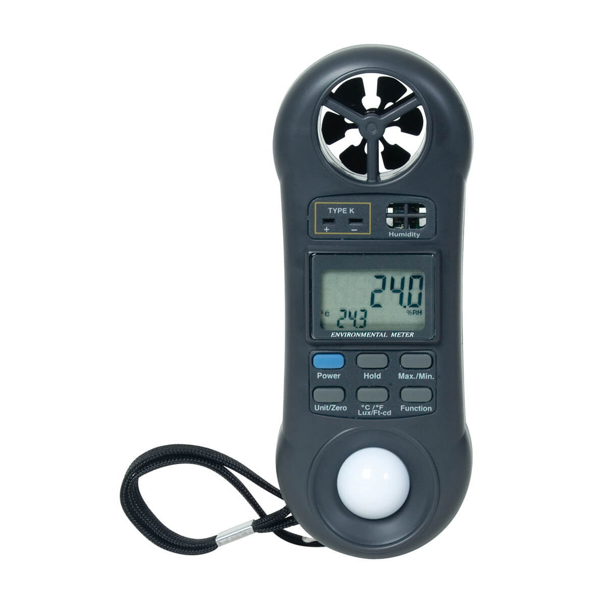 General Tools DLAF8000C 4-in-1 Digital Environmental Meter
