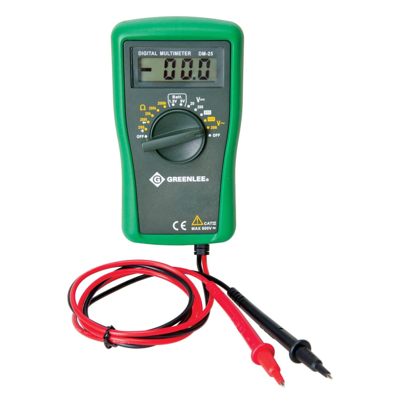 Electrical Tester Greenlee Dm 40 : Greenlee dm digital multimeter