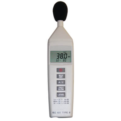 General Tools DSM325 Digital Handheld Sound Level Meter