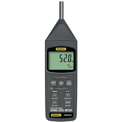 General Tools DSM402SD Digital Sound Level Meter with SD Card