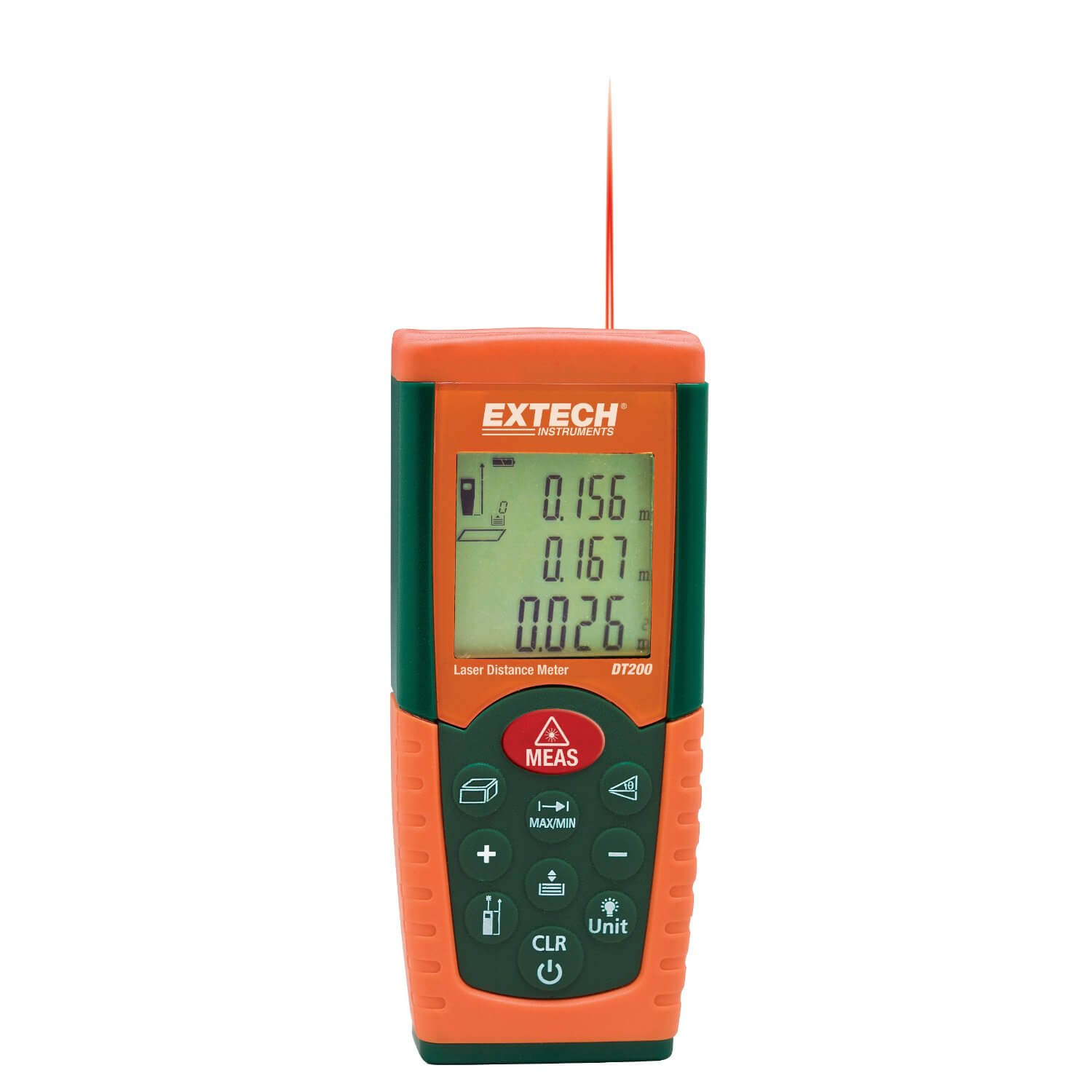 Extech DT200 High Accuracy Laser Distance Meter