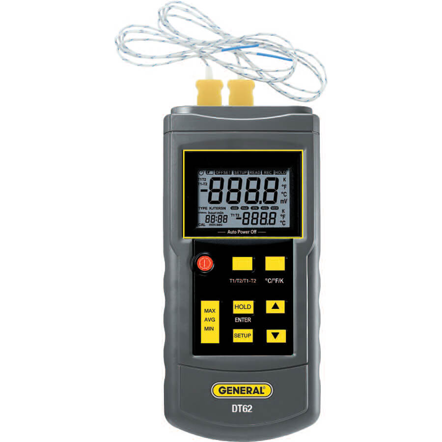 General Tools DT62 Thermocouple Digital Thermometer