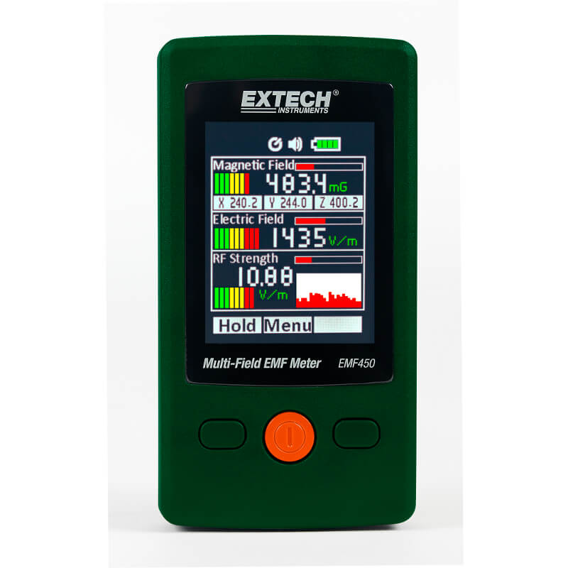 Extech EMF450 Multi-Field EMF Meter with Color Display