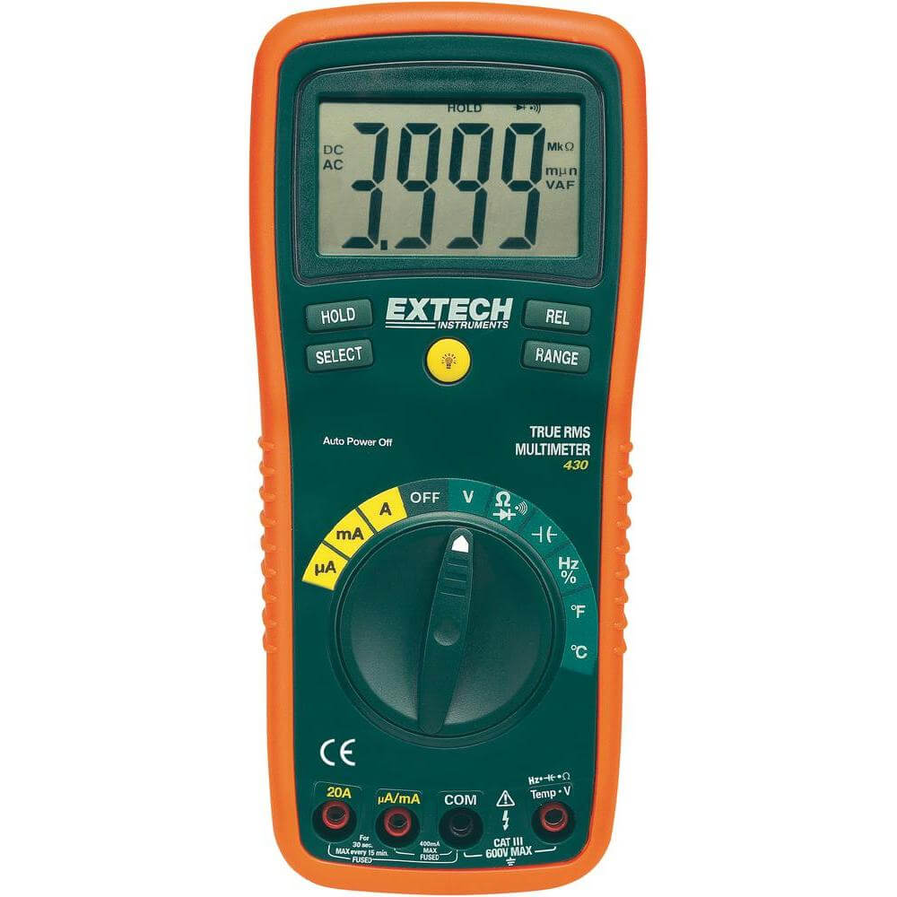 Extech EX430 TRMS Digital Multimeter