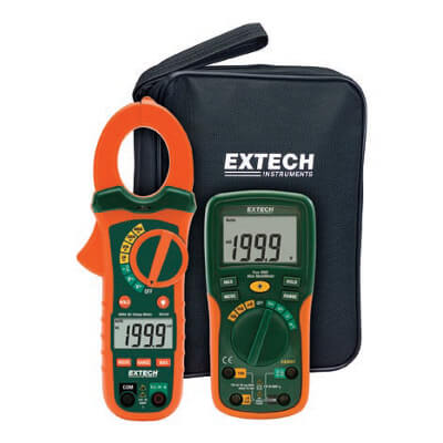 Extech ETK30 AC Clamp Meter Electrical Test Kit