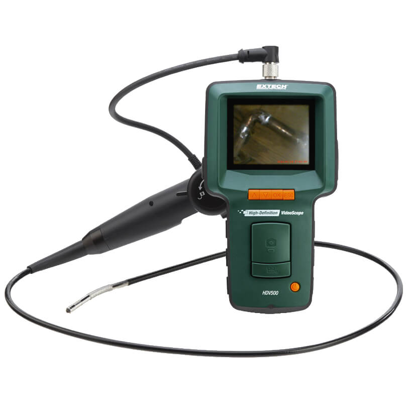 Extech HDV540 High Definition Articulating VideoScope with 6mm Camera
