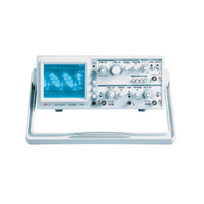 EZ Digital OS-5060A 60MHz Analog Oscilloscope with Variable Hold