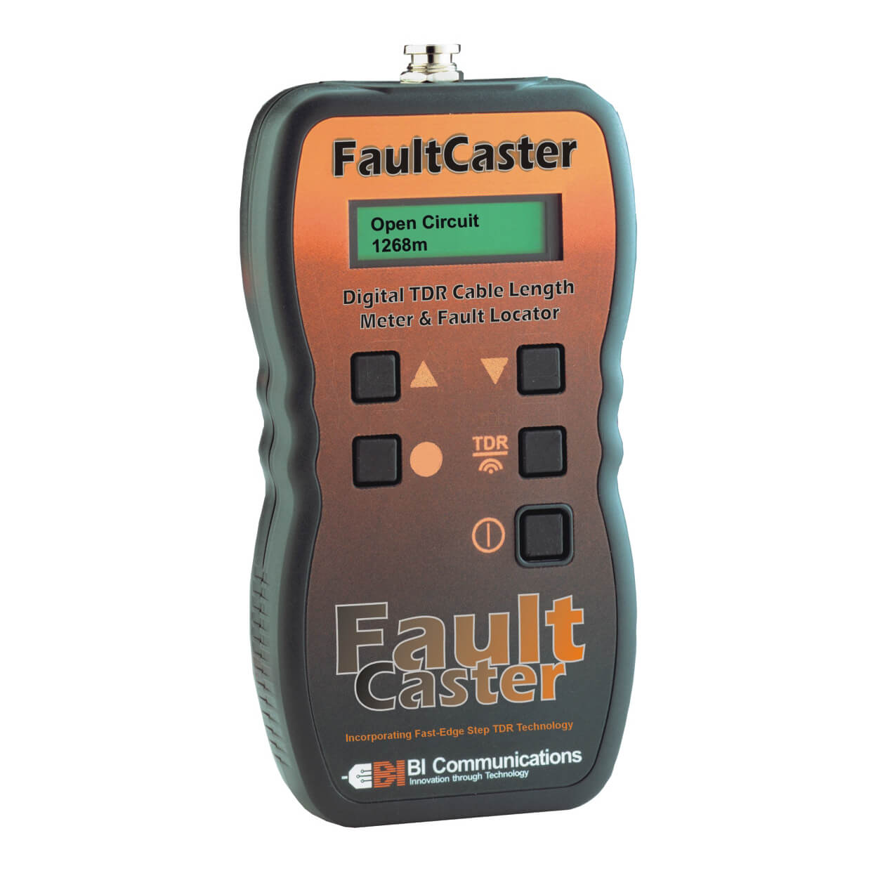 BI Communications FaultCaster TDR Cable Fault Troubleshooter