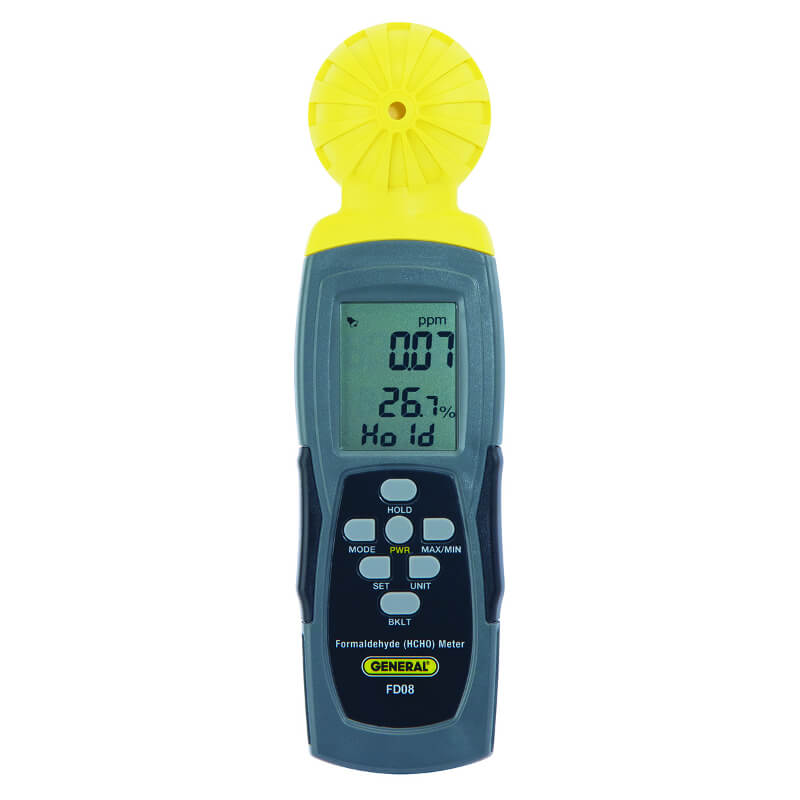 General Tools FD08 Digital Formaldehyde Meter Handheld
