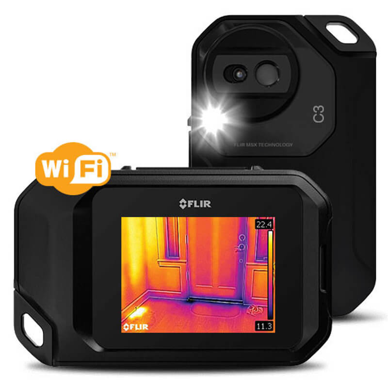 Flir C3 Thermal Imaging Camera With Enhanced Image and Wi-Fi