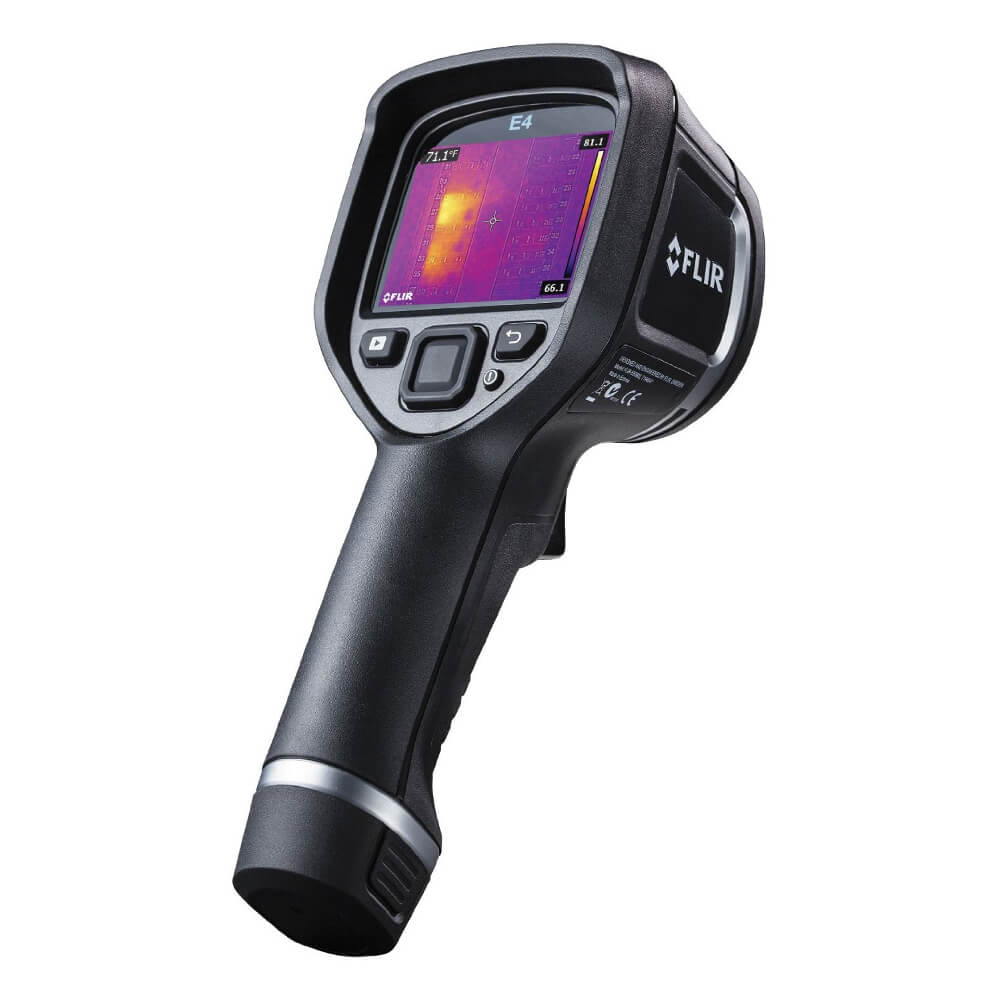 Flir E4 Thermal Imaging Camera with MSX Technology 60x80 4800 Pixels and WiFi