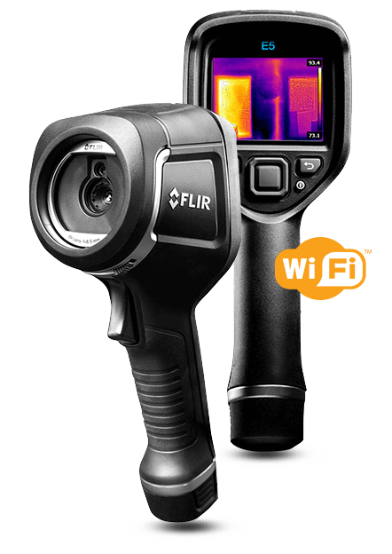 Flir E5 Thermal Imaging Camera with MSX Technology 120x90 10800 Pixels and WiFi