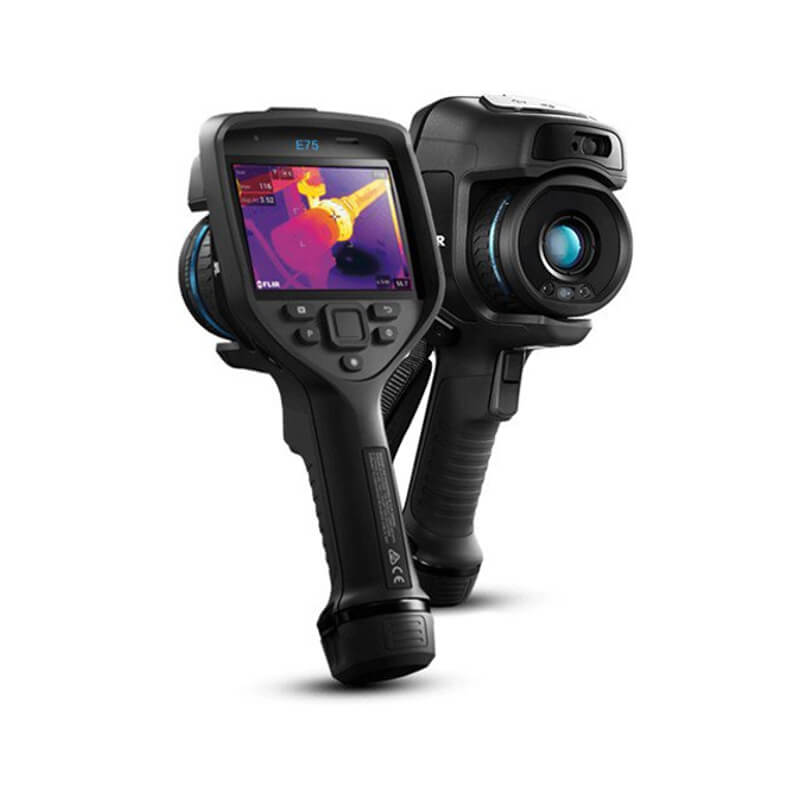 Flir E75-42 Thermal Imaging Camera 42 Degeree Lens with 320X240 Resolution and Automatic Lens Identification