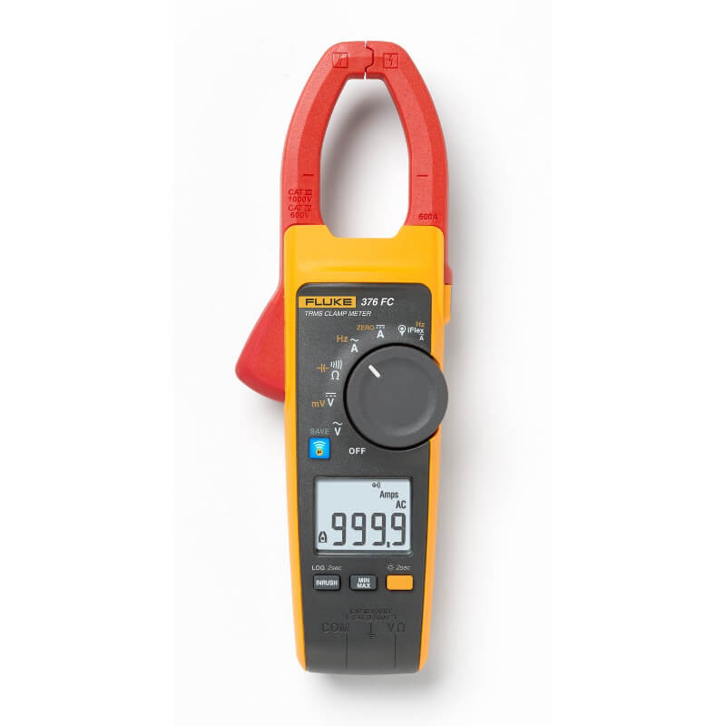Clamp Meter Accessories : Fluke fc true rms a ac dc wireless clamp meter