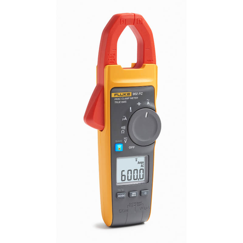 Clamp Meter Accessories : Fluke fc wireless true rms hvac clamp meter
