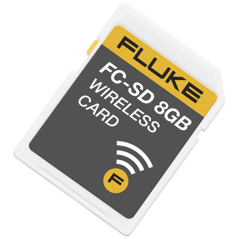 Fluke Connect Wireless 8GB SD Card Add-On for Ti Camera Series