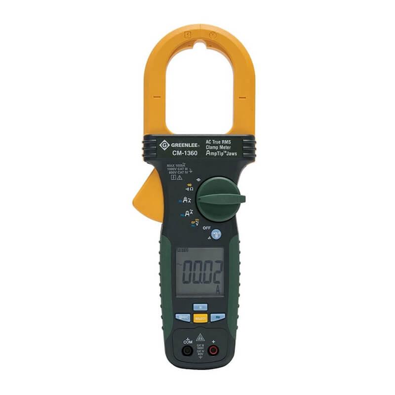 Clamp Meter Brands : Greenlee cm portable ac clamp meter