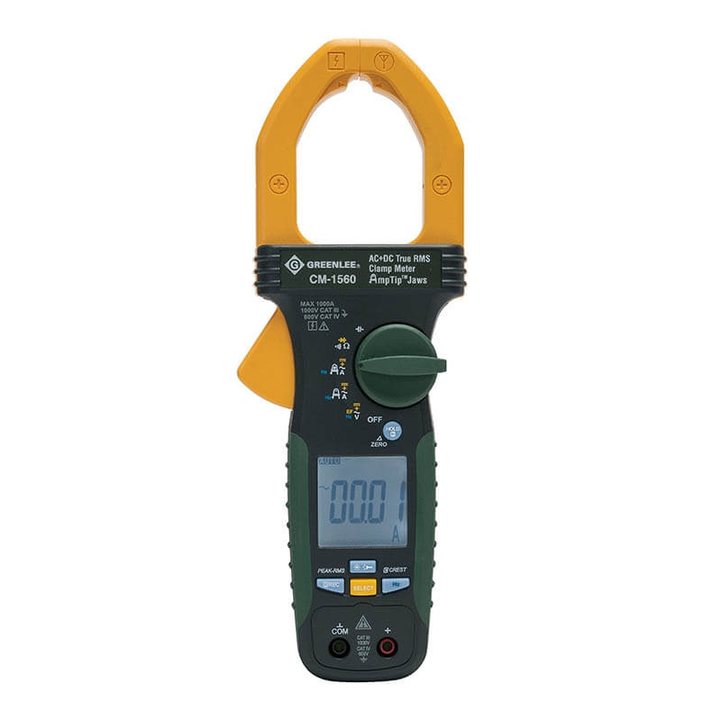 Greenlee CM-1560 True RMS Portable ac-dc Clamp Meter