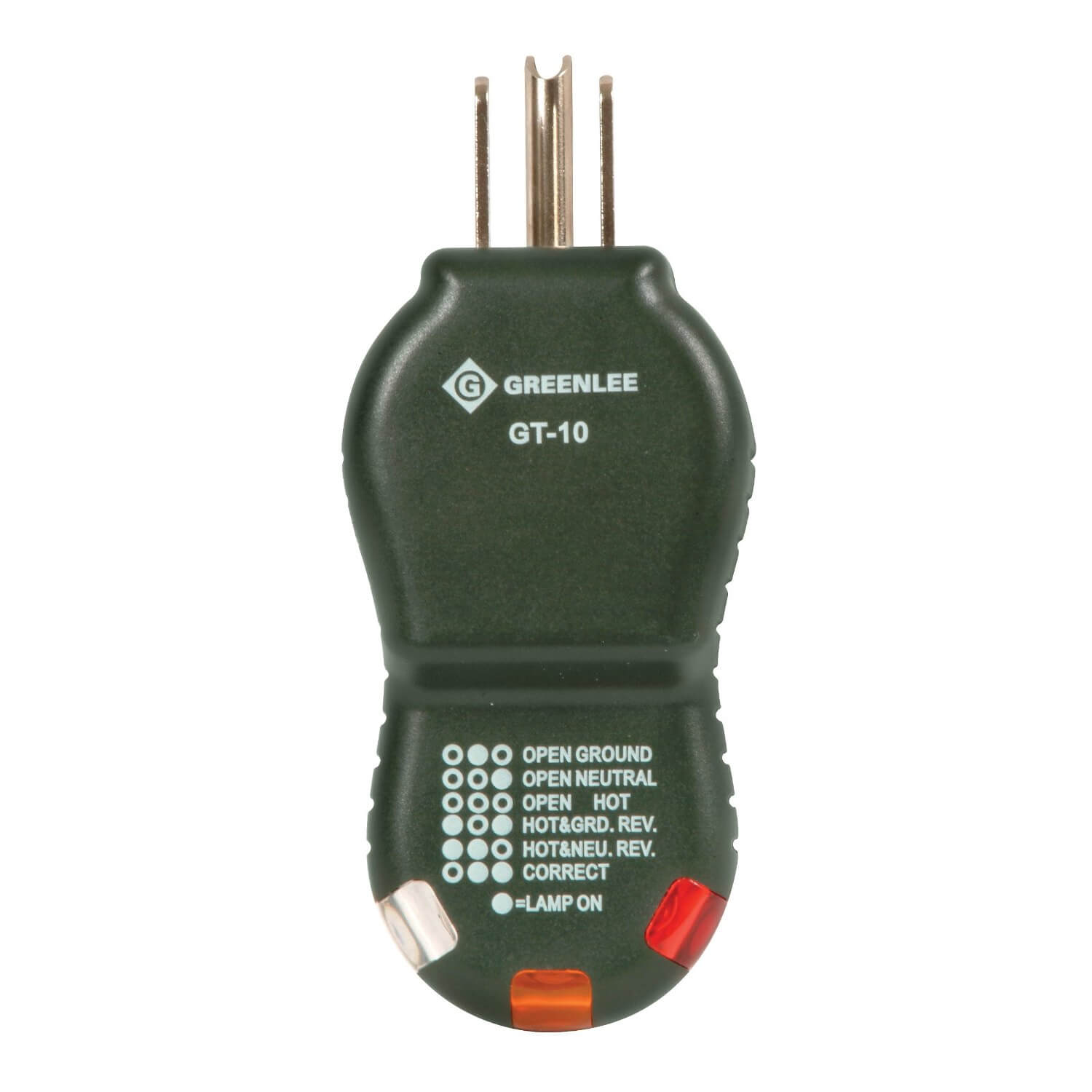 Greenlee GT-10 Receptacle Tester Polarity Cube