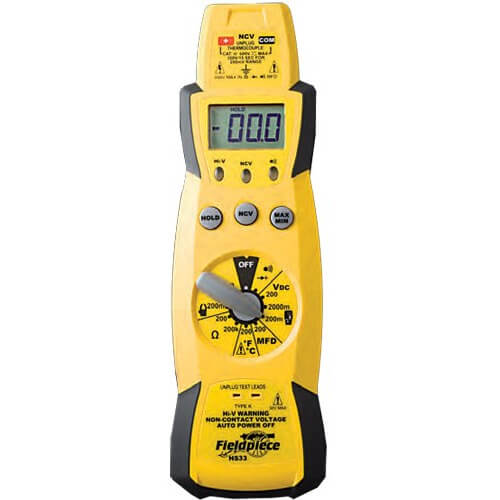 Fieldpiece HS33 HVAC Expandable Stick Multimeter