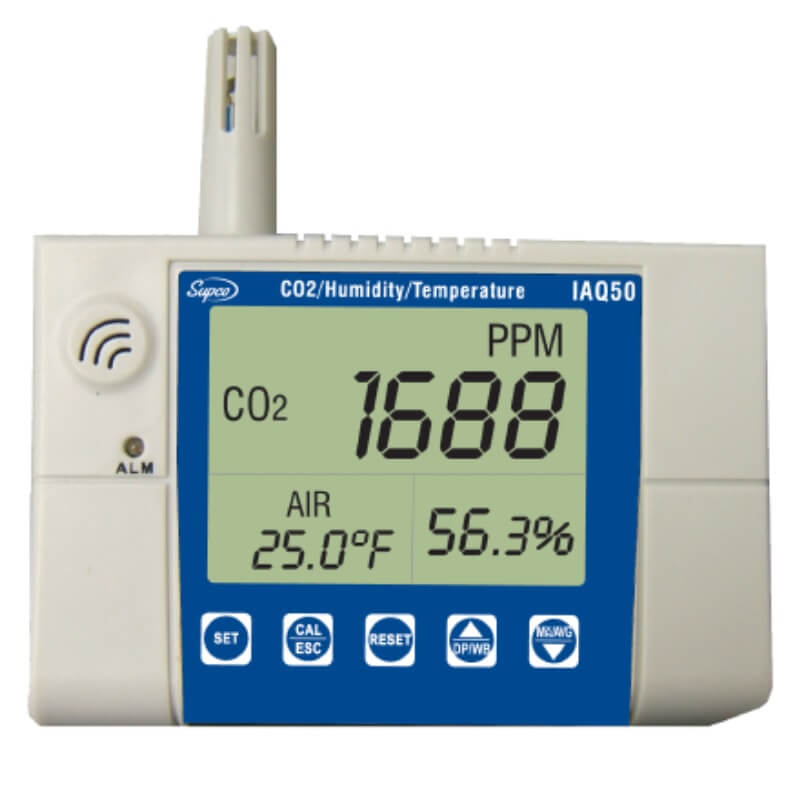 Supco IAQ50 Stationary CO2 Monitor