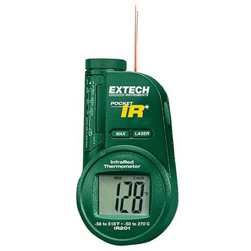 Extech IR201 Pocket Portable Infrared Thermometer