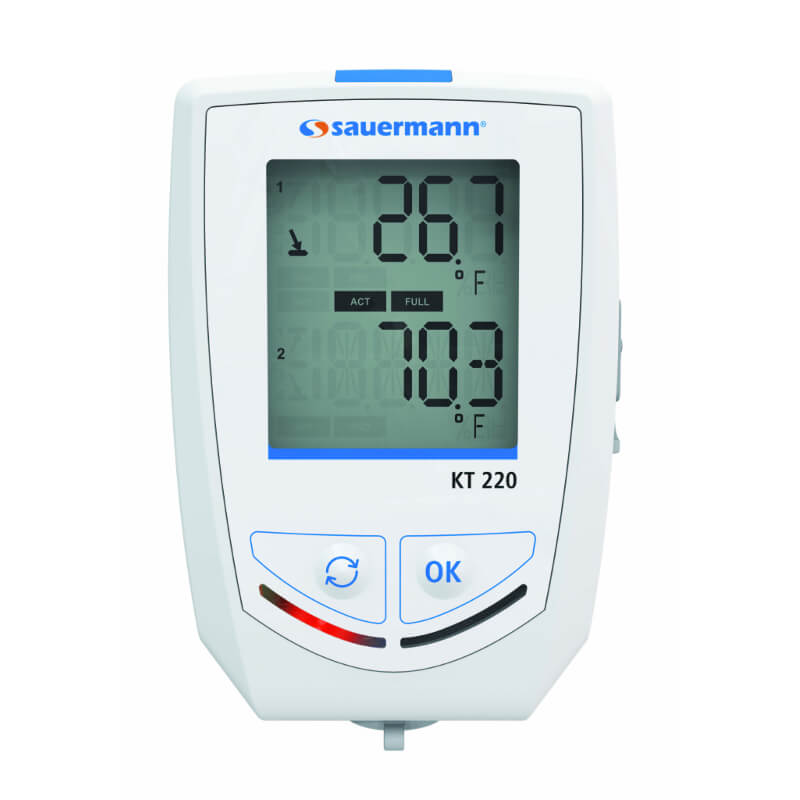 Sauermann KT220-O Multifunction Datalogger Temperature and 5 Other Parameters