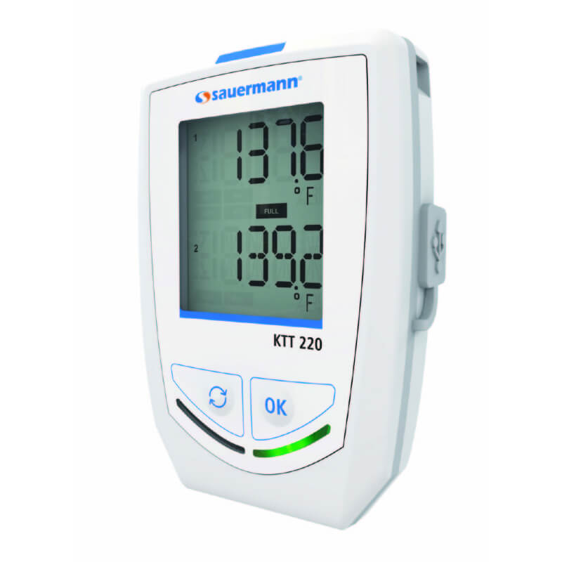 Sauermann KTT220-O Temperature Datalogger with Thermocouple Probe