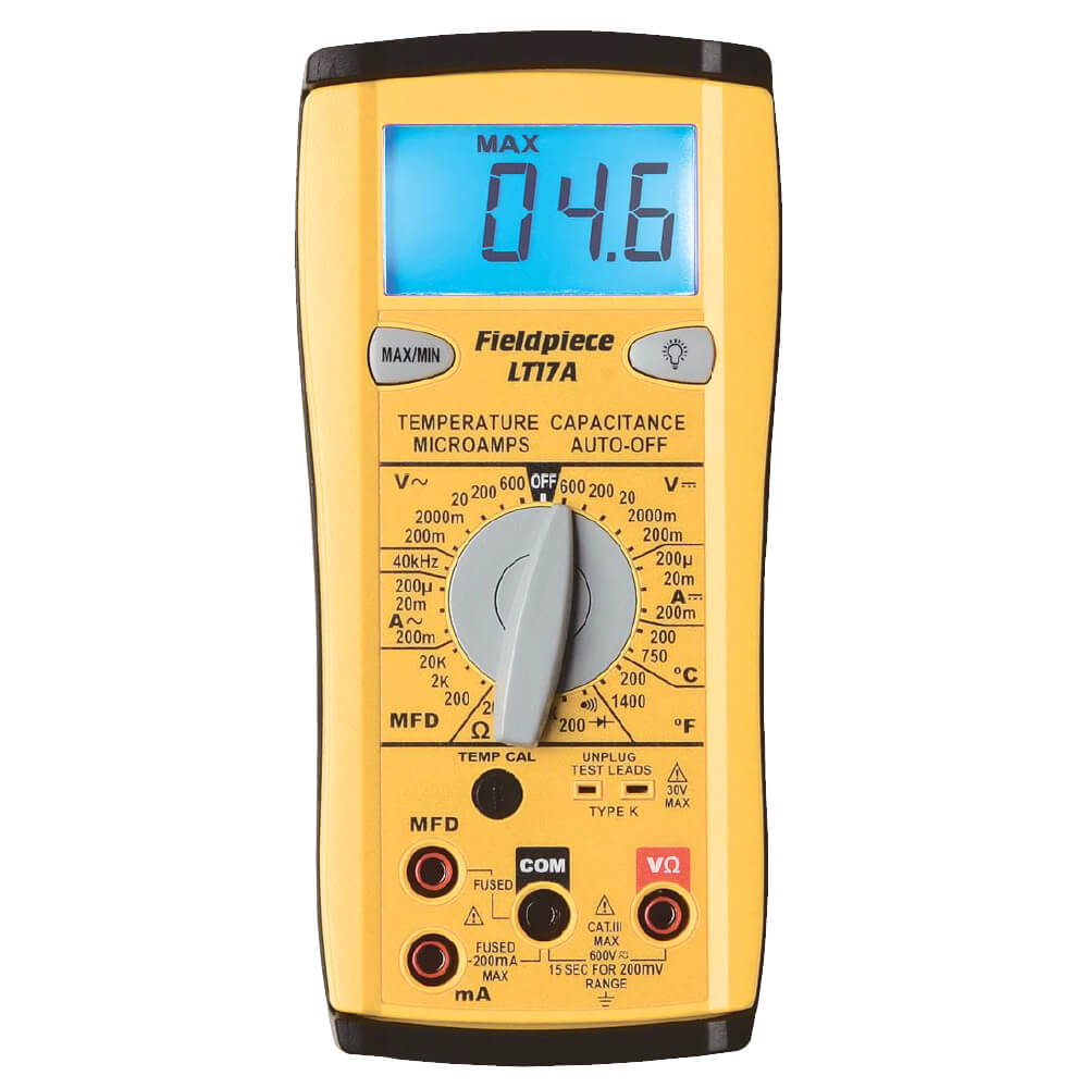 Fieldpiece LT17A Digital Multimeter with Temperature Measurement