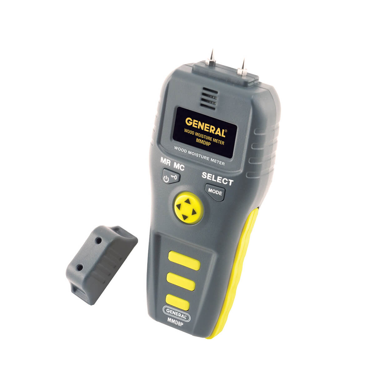 General Tools MMD8P Multi-Species Wood Moisture Meter High Precision