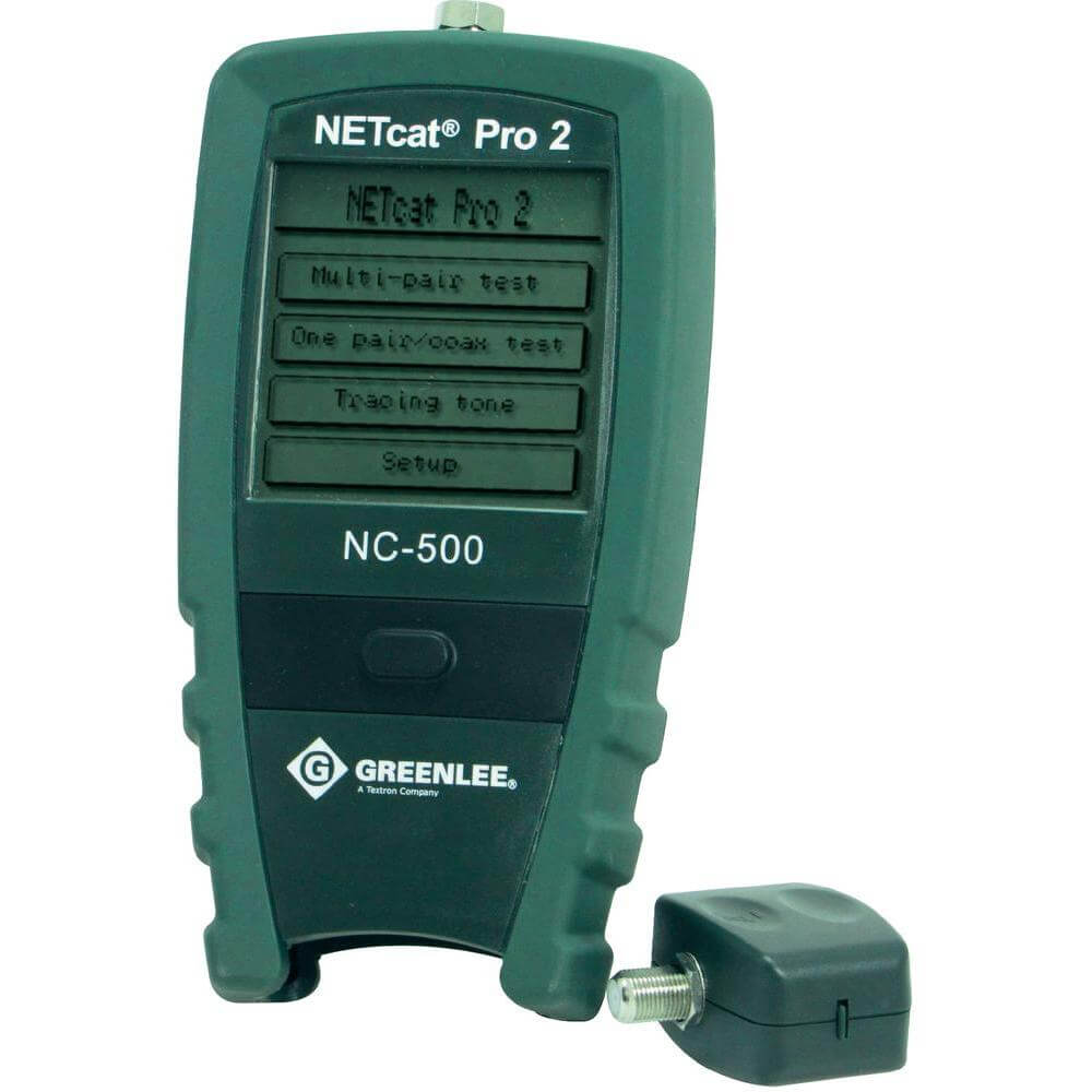 Greenlee NC-500 NETcat Pro Lan Cable Troubleshooter