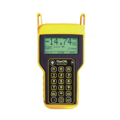 OWL FO-4-SDsc Fiber OWL 4 Fiber Optic Datalogging Power Meter