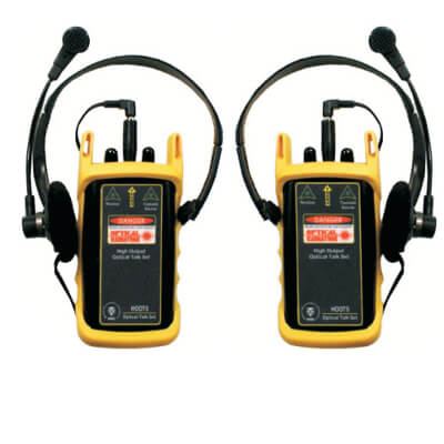 OWL HO-1300 Fiber Optic Talk Set and MM Light Source 1300 nm