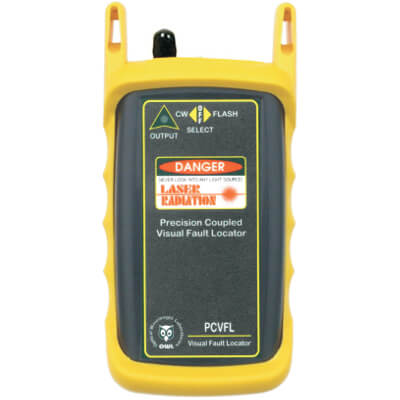 OWL PCVFL-1 Advanced Visual Fault Locator for Fiber Optic Cable