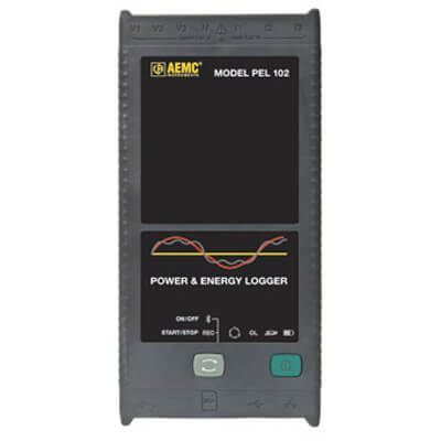 AEMC PEL 102 Advanced Power Energy Logger