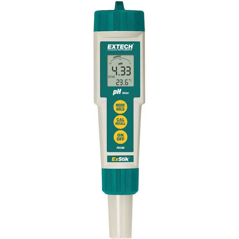 Extech PH100 ExStik Handheld pH Tester