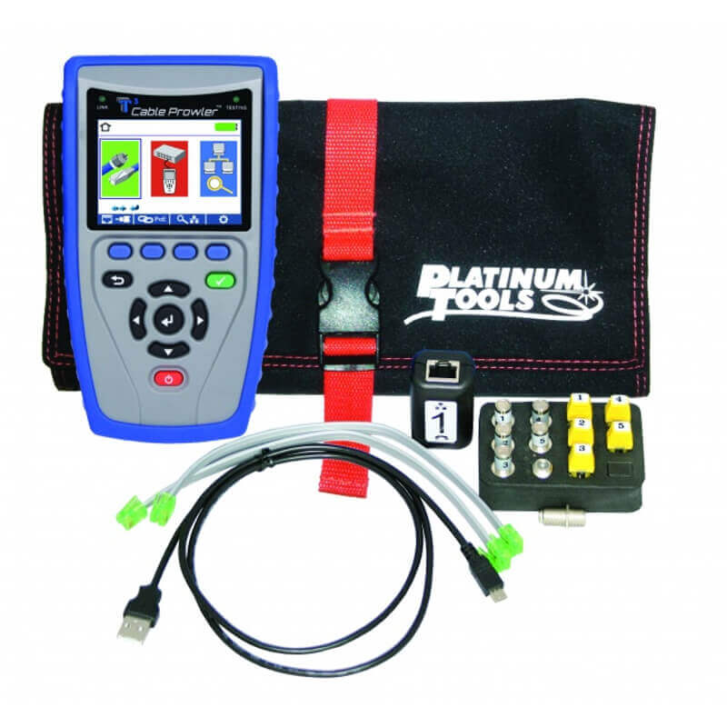 Platinum Tools TCB300 Cable Prowler TDR Cable Tester and Verifier
