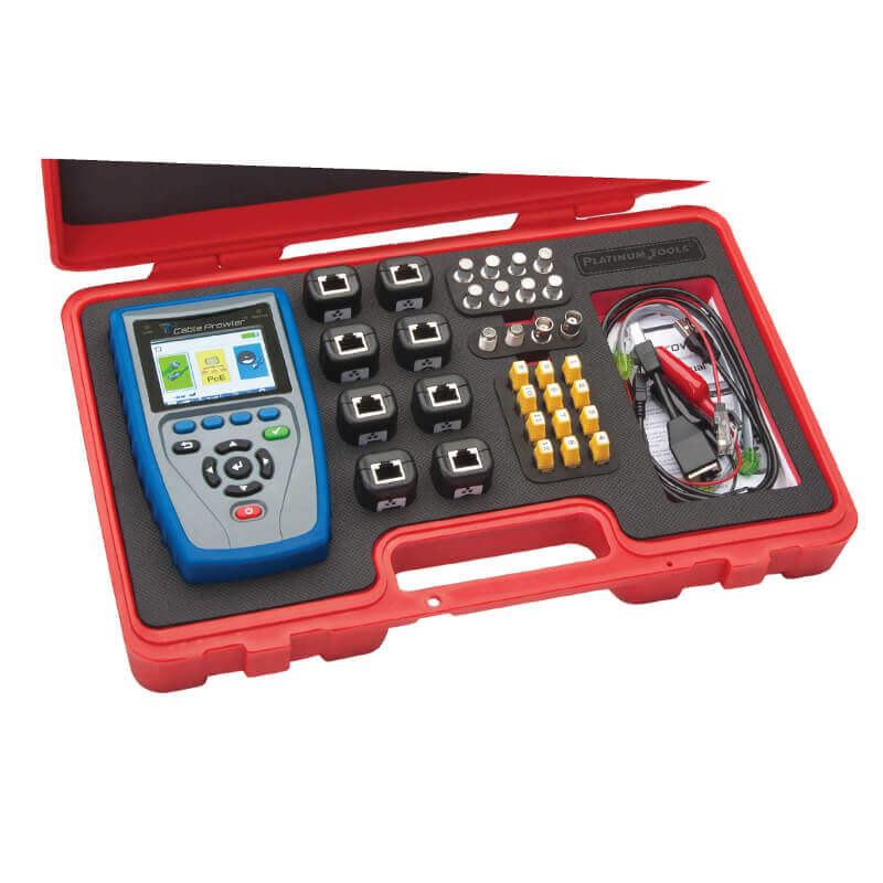 Platinum Tools TCB360K1 Cable Prowler Pro LAN Test Kit