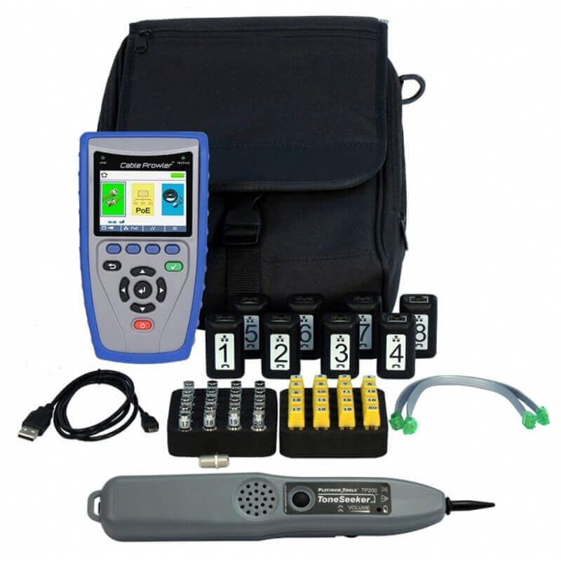 Platinum Tools TCB400 Cable Prowler TDR Network Cable Tester and Verifier
