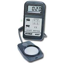 Extech 401027 Handheld Light Meter