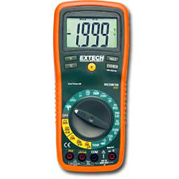 Extech EX410 Digital Manual Ranging Multimeter