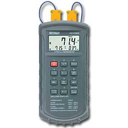 Extech 421502 Digital J-Type or K-Type Dual Input Thermometer