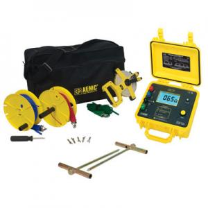 AEMC 4620-150 4-Point Digital Ground Resistance Meter Kit