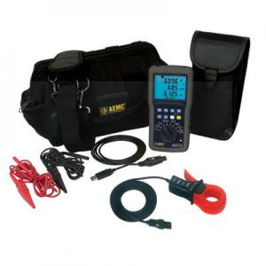 AEMC 8220 SR193-BK Precision Power Quality Analyzer Kit