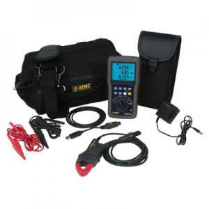 AEMC 8220 MN193-BK Precision Power Quality Analyzer Kit