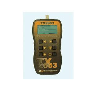 BI Communications TX2003 Handheld TDR Cable Fault Tester