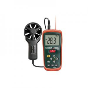 Extech AN200-NIST Digital CFM-CMM Thermo-Anemometer